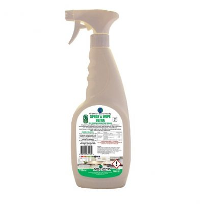 spray and wipe ultra virucidal disinfectant cleaner
