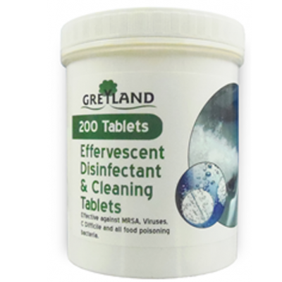 Effervescent Disinfectant & Cleaning Tablets