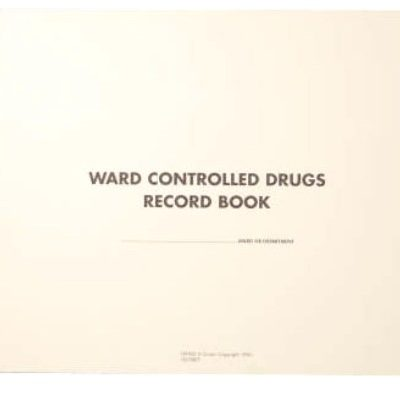 Controlled Drugs Book